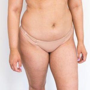 Vitamin A Neutra Bikini Bottoms Rose Gold 10/L